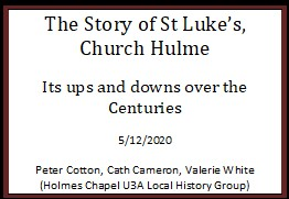 New history of St Luke's