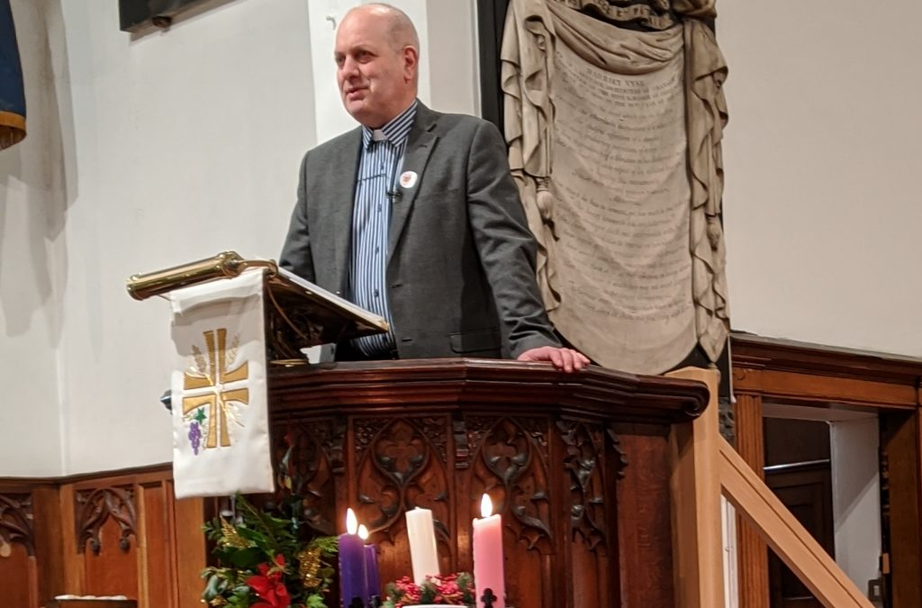 January 2020 letter from our vicar, Rob