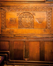 sanctuary oak panelling